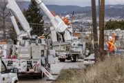 Line crews in the Okanagan work to keep the infrastructure up to date to ensure power is kept on for customers.